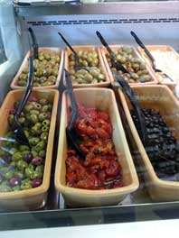 Olive selection from the Wivey Larder